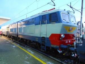 8 Dicembre 2012 - E 656.001 in partenza da Milano Lambrate per Trento