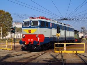 Gli ultimi giorni della E 656.001 a Milano S.to