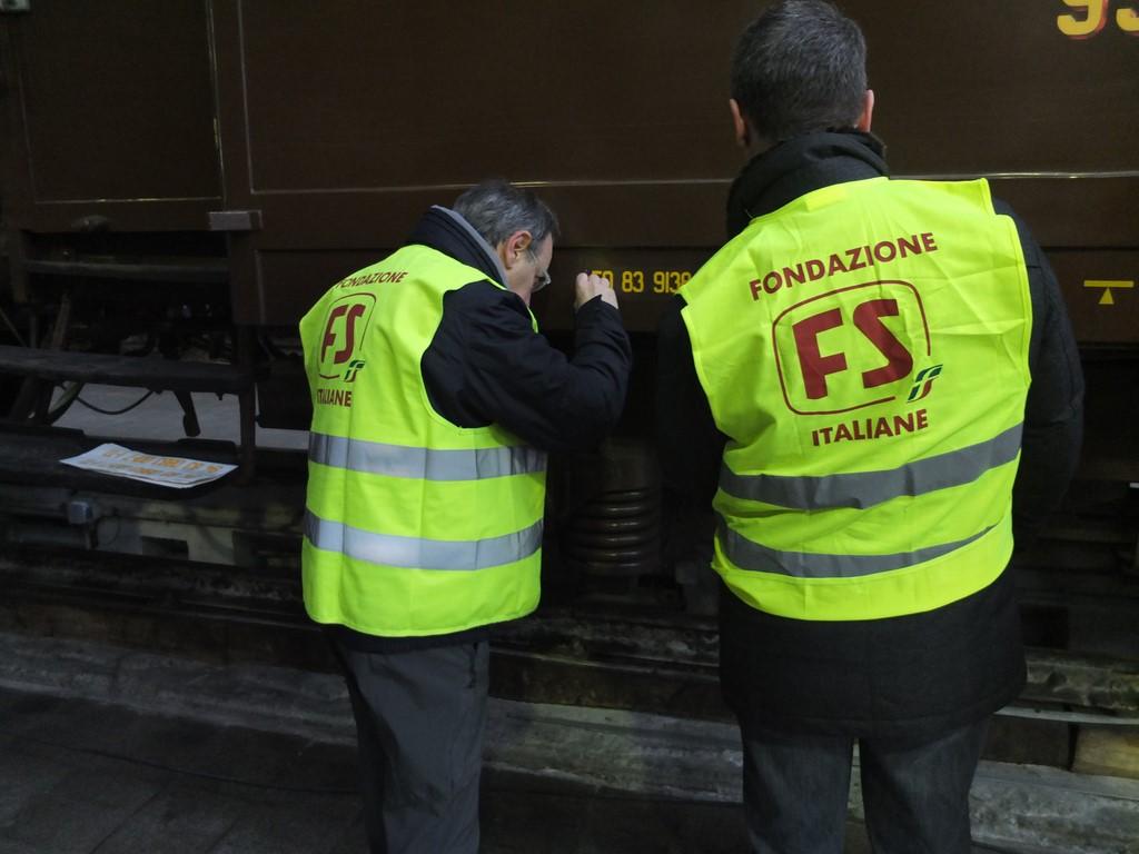 Lavori vari per la Squadra all'OMV Milano Centrale