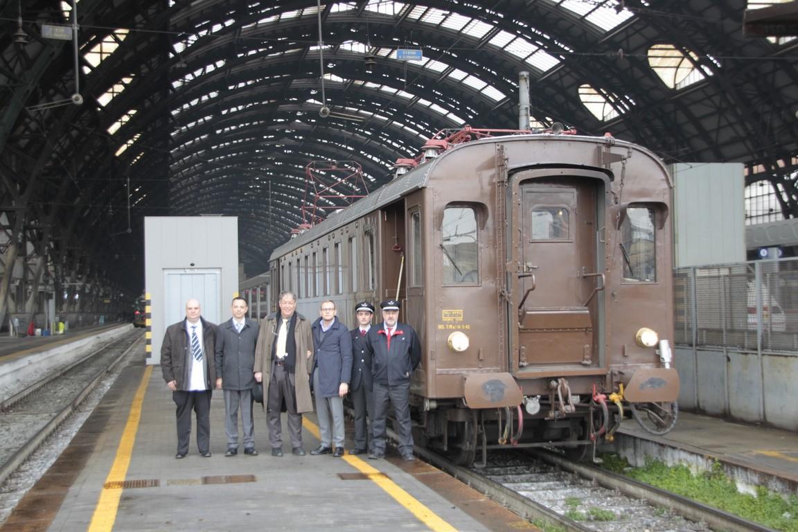 SBB Historich in visita a Milano Centrale Squadra Rialzo