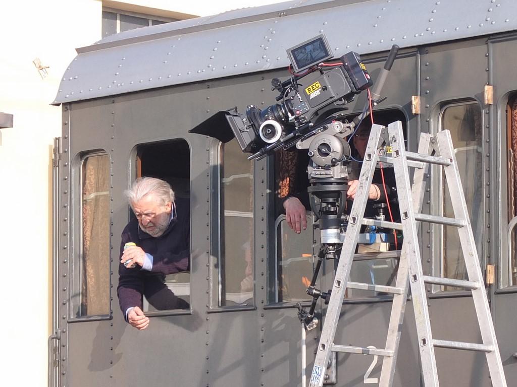 """Proseguono le riprese del film """"Un viaggio di cent'anni"""" diretto da Pupi Avati"""