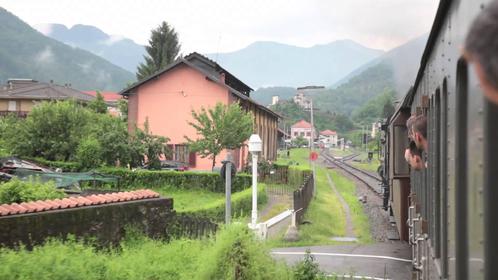 640.143 - Treno a vapore Milano - Varallo di ARSMS - 14 giugno 2015