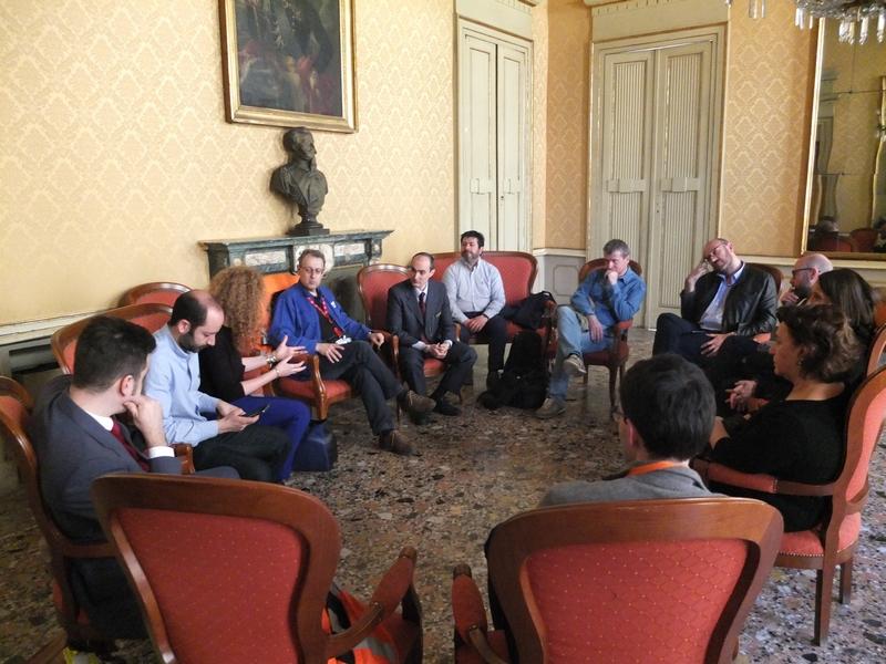 Casale Monferrato: incontro tra Sindaco, Assessore alla Cultura, rappresentanti ARSMS, Fondazione FS, FAI
