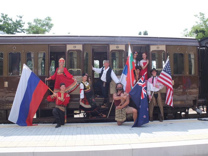 Treviso-Travesio, sabato 11 agosto 2018: «Il treno del Folklore»