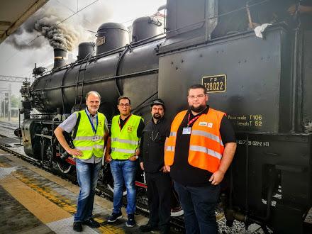 23 settembre 2018. Il treno della «Grande Guerra» (Trieste-Redipuglia)