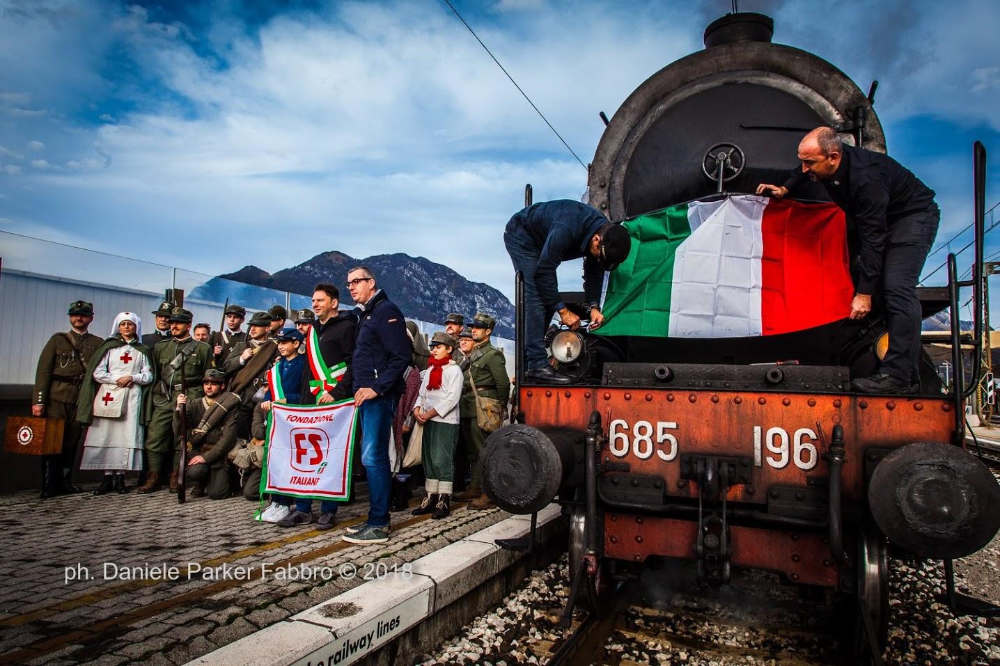 4 novembre 2018: Udine-Pinzano, il treno della «Grande Guerra»