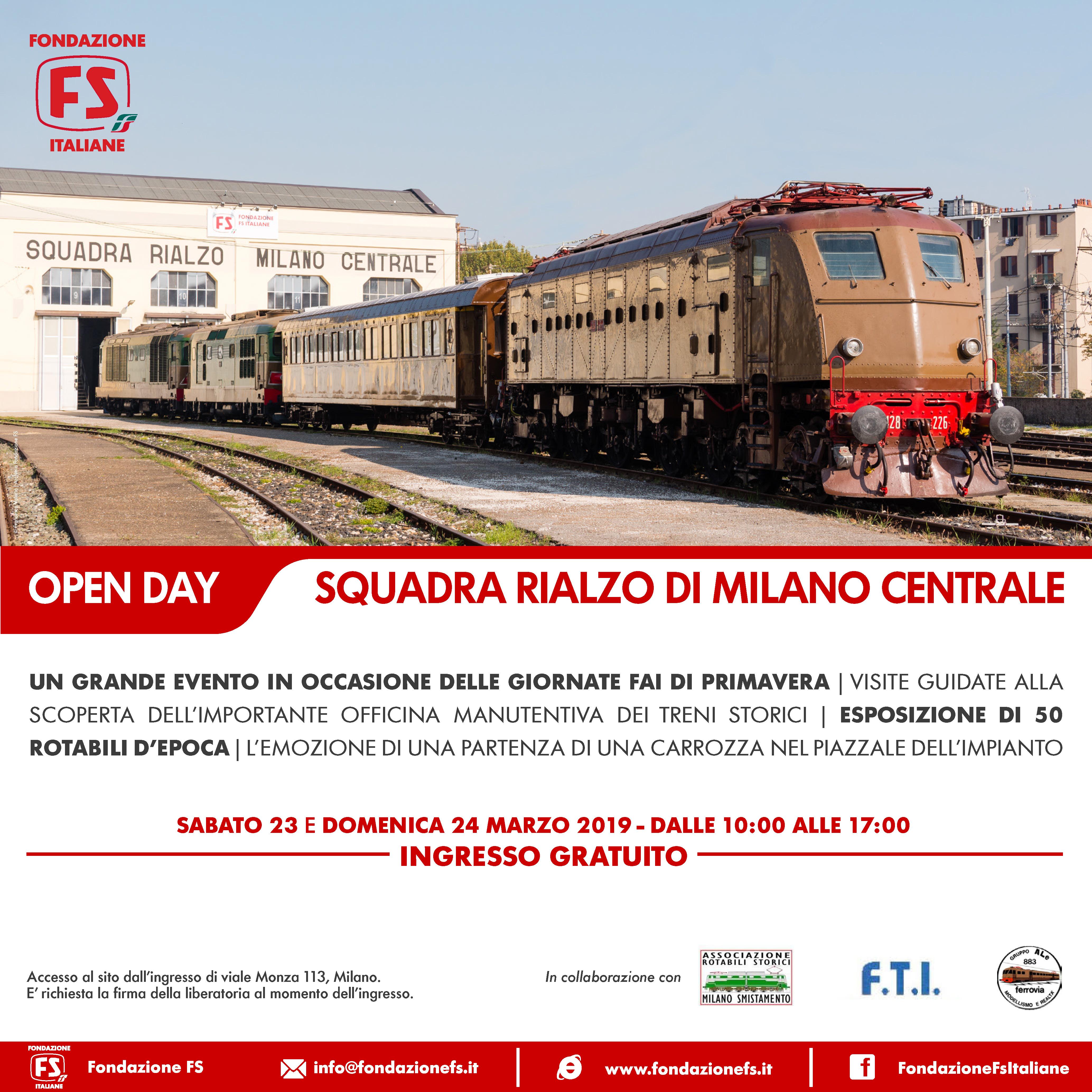 Porte Aperte Squadra Rialzo di Milano Centrale