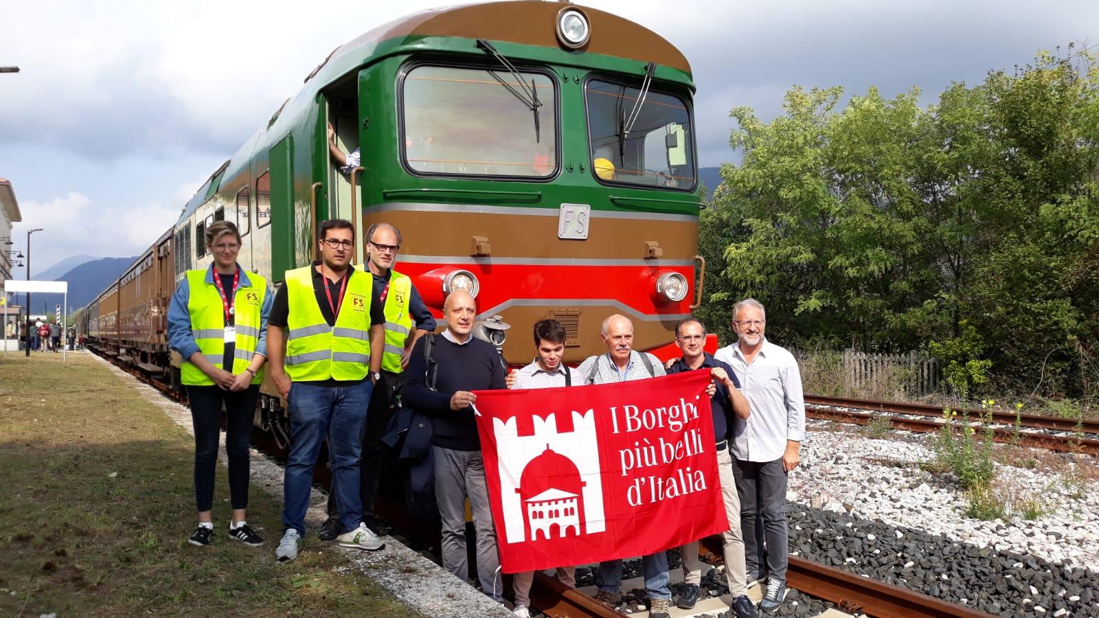 """29 settembre 2019 """"Tra mosaici, castelli e natura"""" treno storico da Udine a Travesio e Spilimbergo"""