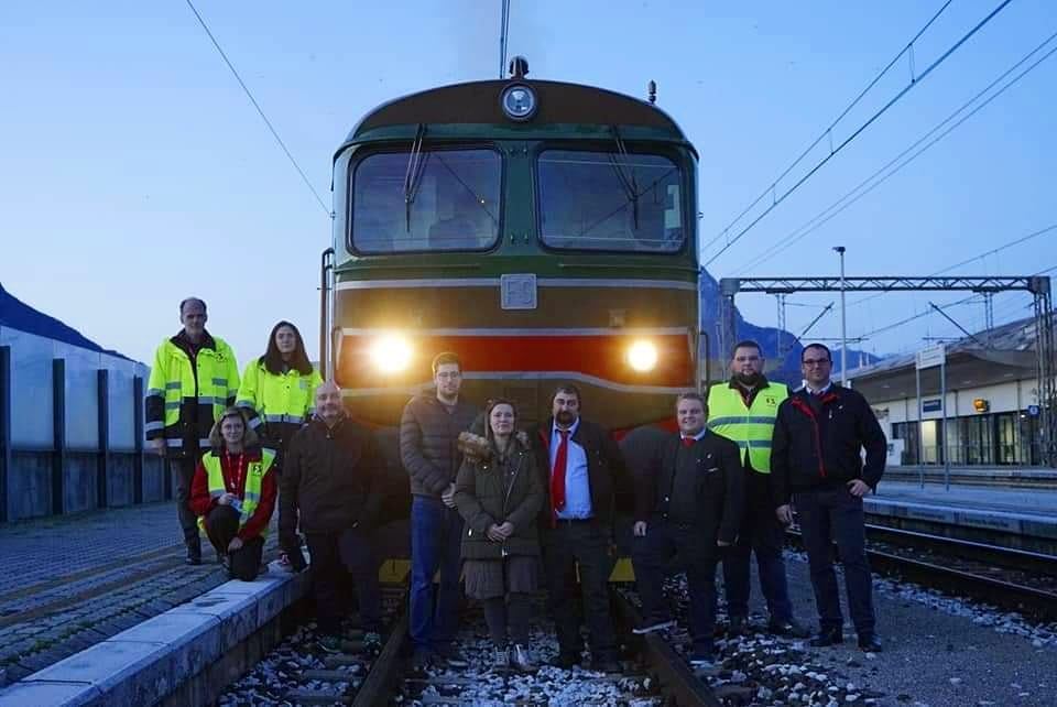 10 novembre 2019 In treno storico verso Gemona, formaggi e dintorni