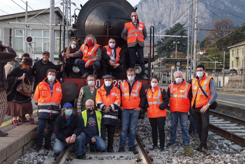 Treno storico a vapore Milano - Lecco