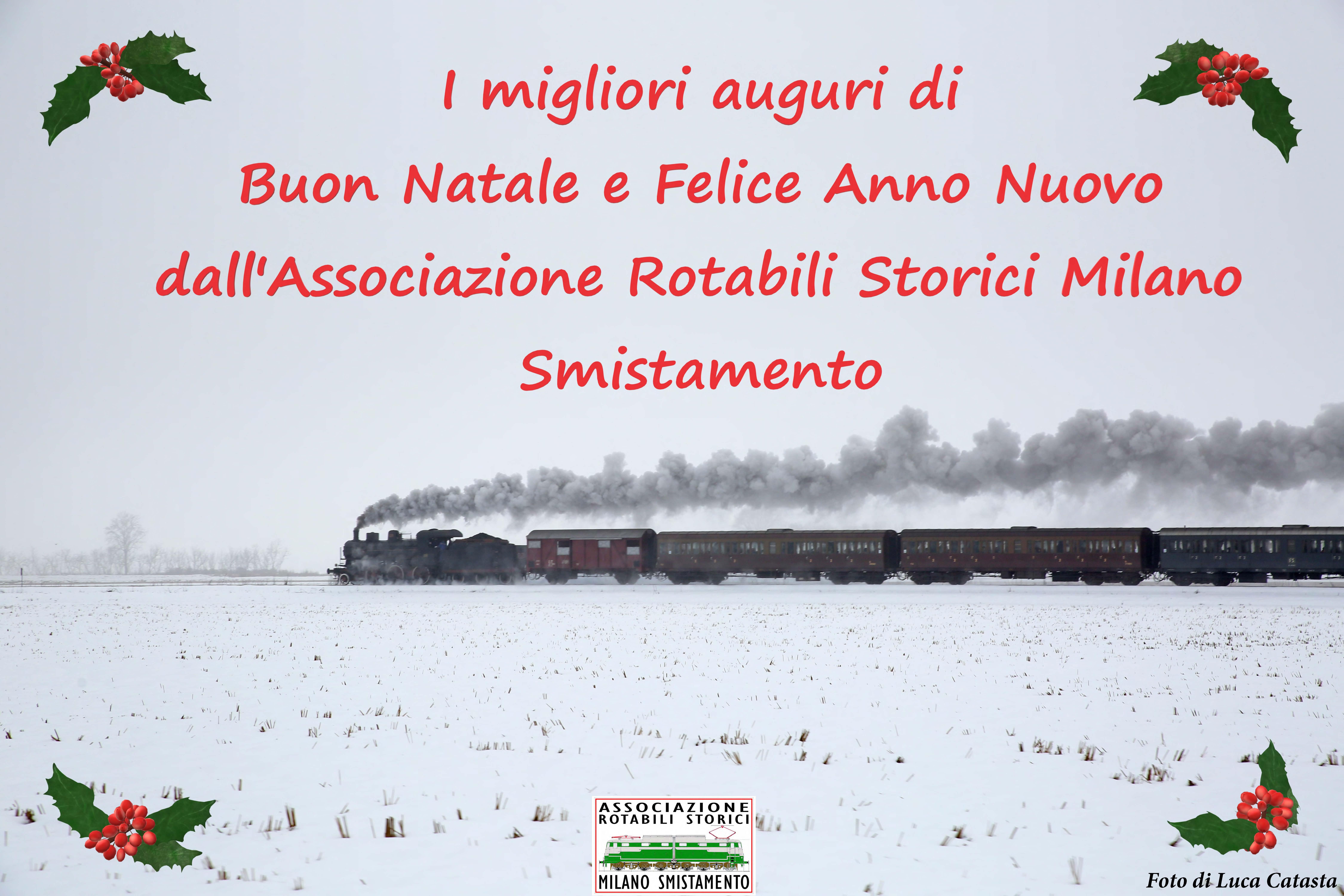 Buon Natale e Felice Anno Nuovo dall'ARSMS!
