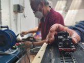 Primi passi per una storica 835 sui moduli del plastico di Asso